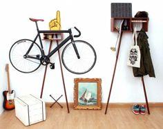 bike wall rack - Buscar con Google