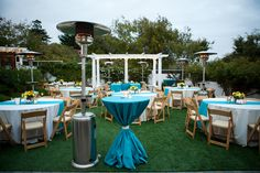 Reception at The Perry House in Monterey  http://eventsbyclassic.com