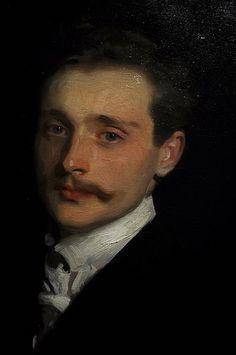 Léon Delafosse, by John Singer Sargent, c1895-1898, Seattle Art Museum