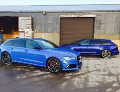 Todays #Audicolor question: #Voodooblue or #Micablue? #Audi #RS6 oooo…