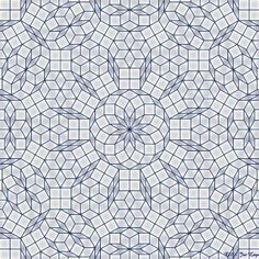 Gallery : Penrose tilings                                                                                                                                                                                 More