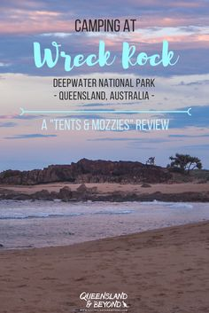 Deepwater National Park is a lovely spot just south of Agnes Water. Here's what you need to know about camping at Deepwater. Camping Guide, Camping Spots, Tent Camping, Coast Australia, Australia Travel, Ludington State Park, Brisbane Queensland, Airlie Beach, Deep Water