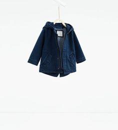 Image 1 de Parka en jean de Zara