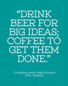 Threadless artist Vitaly Klimenko (Kiev, Ukraine) / Threadless Artist Quotes