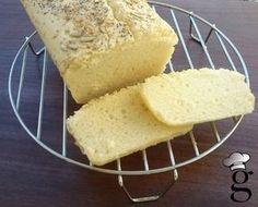 Pan de molde SIN GLUTEN con harina de arroz y Maizena