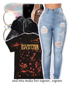 """""""《and imma make her tapout, tapout..》"""" by desirenelle ❤ liked on Polyvore featuring Cotton Candy, Linda Farrow, Puma, Topshop and philosophy"""