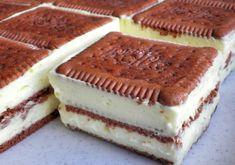 Bolo de fatias de creme de baunilha e biscoito de manteiga - Bolo de biscoito de manteiga / bolo de biscoito - Backen&Torten - Cupcake Recipes, Snack Recipes, Snacks, Bread Recipes, Banana Recipes, Ice Cream Recipes, Biscuit Cake, Peanut Butter Banana, Fall Desserts