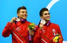 Clavadistas Germán e Iván son de plata, Foto: Getty Images