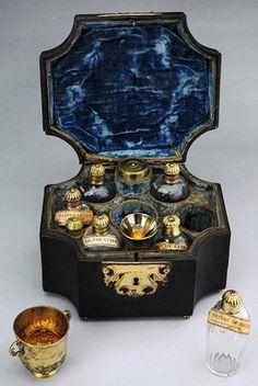 Vintage medicine chest