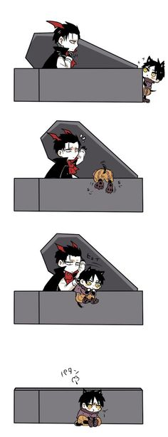 Eren and Levi || Attack on Titan ~ Awww