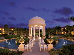 Swoon-worthy wedding gazebo at Dreams Punta Cana Resort & Spa. So romantic! #beachweddings