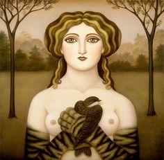 Figuration Feminine: 1971 Calascione Colette