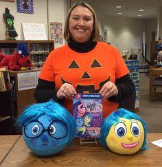 Inside out Character Pumpkins, Pumpkin Contest, Story Characters, Inside Out, Pumpkin Carving, Halloween, Pumpkin Carvings, Spooky Halloween