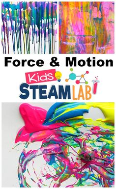 Explore the concepts of Force and Motion with these fun and engaging hands-on STEAM Activities for Kids