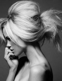 Patrick Demarchelier // Hair by Luigi Murenu for Vogue German May 2010