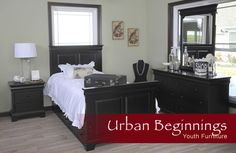 bedroom and occasional furniture | The Urban Collection by Yutzy's Woodworking | Millersburg, Ohio