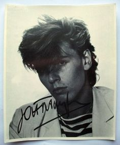 Autographed Photo of John Taylor (Duran Duran) | Luvdby - discover. share. collect