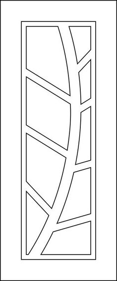 Vector For Door Machining EPS File