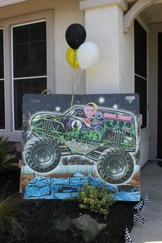 Monster Truck Birthday Party Ideas | Photo 12 of 37 | Catch My Party