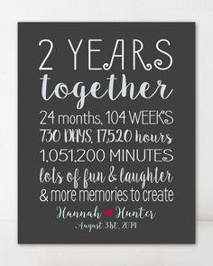 2 Year Anniversary Gifts For Him, Boyfriend Anniversary Gifts, Wedding Anniversary Gifts, 2 Year Anniversary Quotes, 25th Anniversary, Boyfriend Birthday, Paper Anniversary, Wedding Gifts, Perfect Gift For Boyfriend