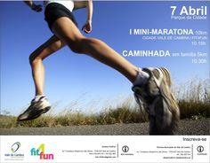I Mini-Maratona (10Km) Cidade Vale de Cambra  > 7 Abril 2013 (Adiada para 28 de Abril) - 10h15  Parque da Cidade, Vale de Cambra