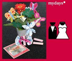 DIY Hochzeitsgeschenke - Im mydays Magazin erfährst Du, wie Du aus Geld und Gutscheinen richtig kreative und originelle Geschenkideen gestalten kannst!