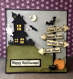 halloween stamps for card making
