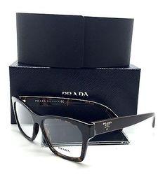 940464a134db5 Prada Brown Eyeglasses VPR 22S 2AU 1O1 54 mm Havana Tortoise Prada  Eyeglasses