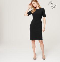 Short Sleeve Sheath Dress | Loft