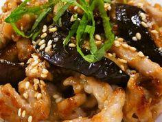 娘に伝えたい*豚となすの胡麻味噌炒め*の画像 Japanese Eggplant Recipes, Japanese Dishes, Japanese Food, Pork Recipes, Asian Recipes, Cooking Recipes, Healthy Recipes, Easy Eat, How To Cook Pork