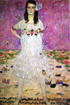 "lonequixote: ""Mada Primavesi ~ Gustav Klimt """
