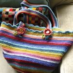 crocheted bags & totes