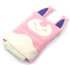 Skitty Pokemon Nintendo DS case pouch fleece by fleacircusdesigns, $25.00