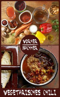 http://eatsmarter.de/rezepte/vegetarisches-chili Chili sin Carne ist so lecker und schmeckt nicht nur Vegetariern und Veganern.