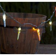 Garden Oasis 10ct Iridescent Light String - Dragonfly at Sears.com
