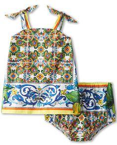 Dolce & Gabbana Graphic Print Sleeveless Dress Women's Active Sets on shopstyle.com