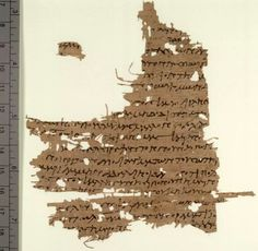 Gospel of Mary Datec. 120–180 CE  Berolinensis Gnosticus 8502,1 P. Oxyrhynchus 3525 P. Rylands 463  Theme: The soul's ascent The Gospel of Mary is an apocryphal book discovered in 1896 in a 5th-century papyrus codex. The codex Papyrus Berolinensis 8502 was purchased in Cairo by German scholar Karl Reinhardt. Sacred Feminine, Divine Feminine, Gospel Of Mary, Santa Maria Magdalena, Archaeological Discoveries, Mary Magdalene, Ancient Artifacts, Archaeology, Holi