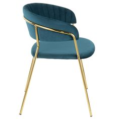 The Tania Chair, Teal brings your room to life. Banquette Seating Restaurant, Chaise Restaurant, Modern Restaurant, Restaurant Furniture, Asia Restaurant, Restaurant Design, Upholstered Dining Chairs, Dining Chair Set, Desk Chair