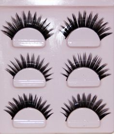 508f241ddac Three Pairs/Set Natural Long mink False EyeLashes Makeup Handmade Thick  Fake False EyeLashes lash mink eyelashes Cosmetic Tools-in Makeup Scissors  from ...