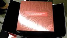 #packaging con acabados de impresión #3d