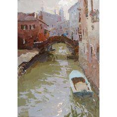 Venice. Oil on board. 35 x 50 cm. Daniil Volkov