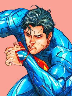 'New Superman - Kenneth Rocafort More - Visit to grab an amazing super hero shirt now on sale! Super Hero Shirts, Super Hero Outfits, Superman News, Batman Vs Superman, Dc Comics Art, Marvel Comics, Superman Tattoos, Superman Pictures, Dc Comics Collection