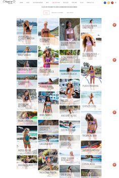 Best Photography Websites, Photography Themes, Creative Photography, Swimwear Brands, Swimsuit Cover Ups, Two Piece Bikini, Wordpress Theme, Swimsuits, Beautiful