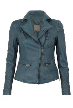 Muubaa Sirius Leather Biker Jacket