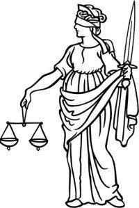 Justicia Dama De La Justicia Ley Y Justicia Tatuaje De La Justicia