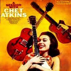 Vintage Chet Atkins Guitar Album - Vinyl Record - Nashville - Namm - Guitars - Guitar - Retro - Gretch