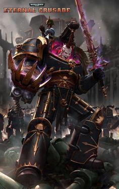abaddon black_legion chaos eternal_crusade power_claws power_sword space_marines ukitakumuki(kai_lim)