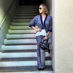Meu look @mariafilo! O tricô é super leve. Lembra #missoni. #andreafialho #estiloandreafialho #mariafilofortaleza
