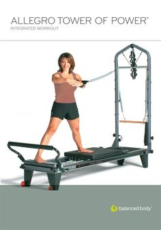 Allegro Tower: Integrated Workout -- Don't get left behind, see this great  product : Pilates