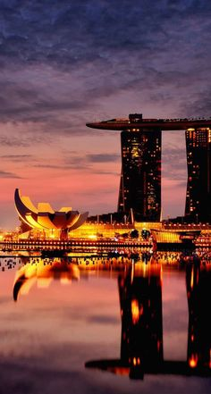 And this is exactly what it looks like. One of my most fav trips. SL Marina Bay Sands, Singapore